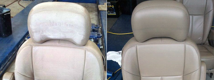 Seats Repaired